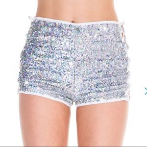 iHeartRaves Sequins Shorts